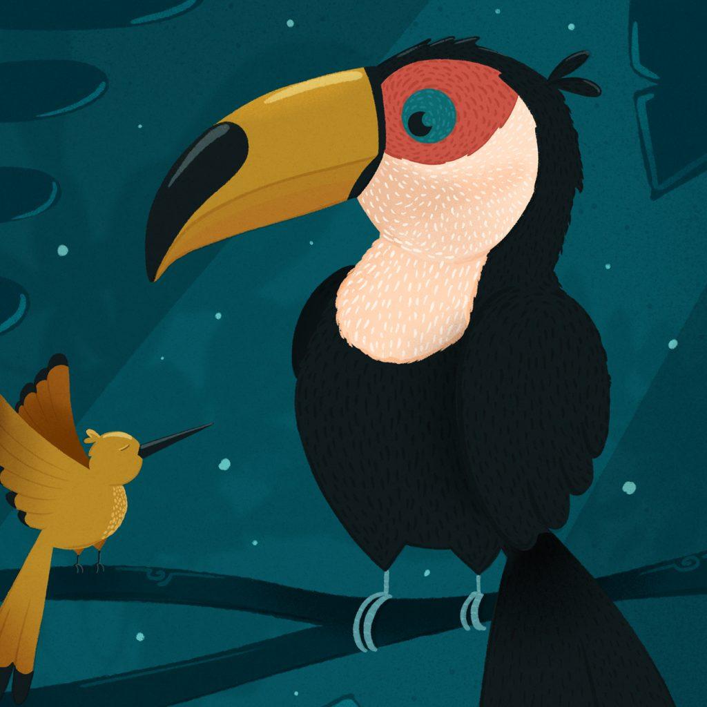 poster toucan