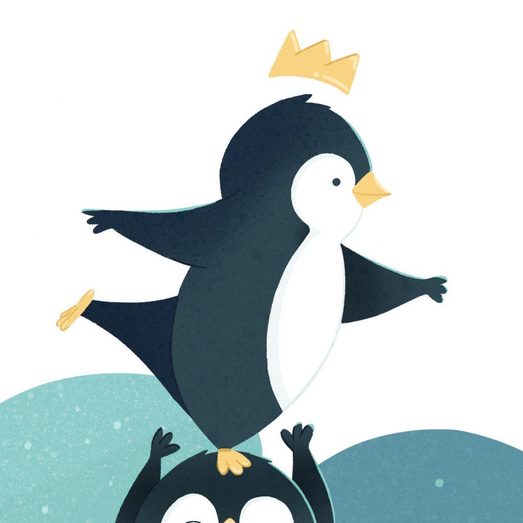 roi des pingouins